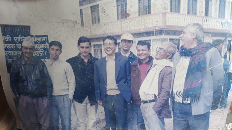 Rajkumar_Karki_Press_Chautari_Pokhara