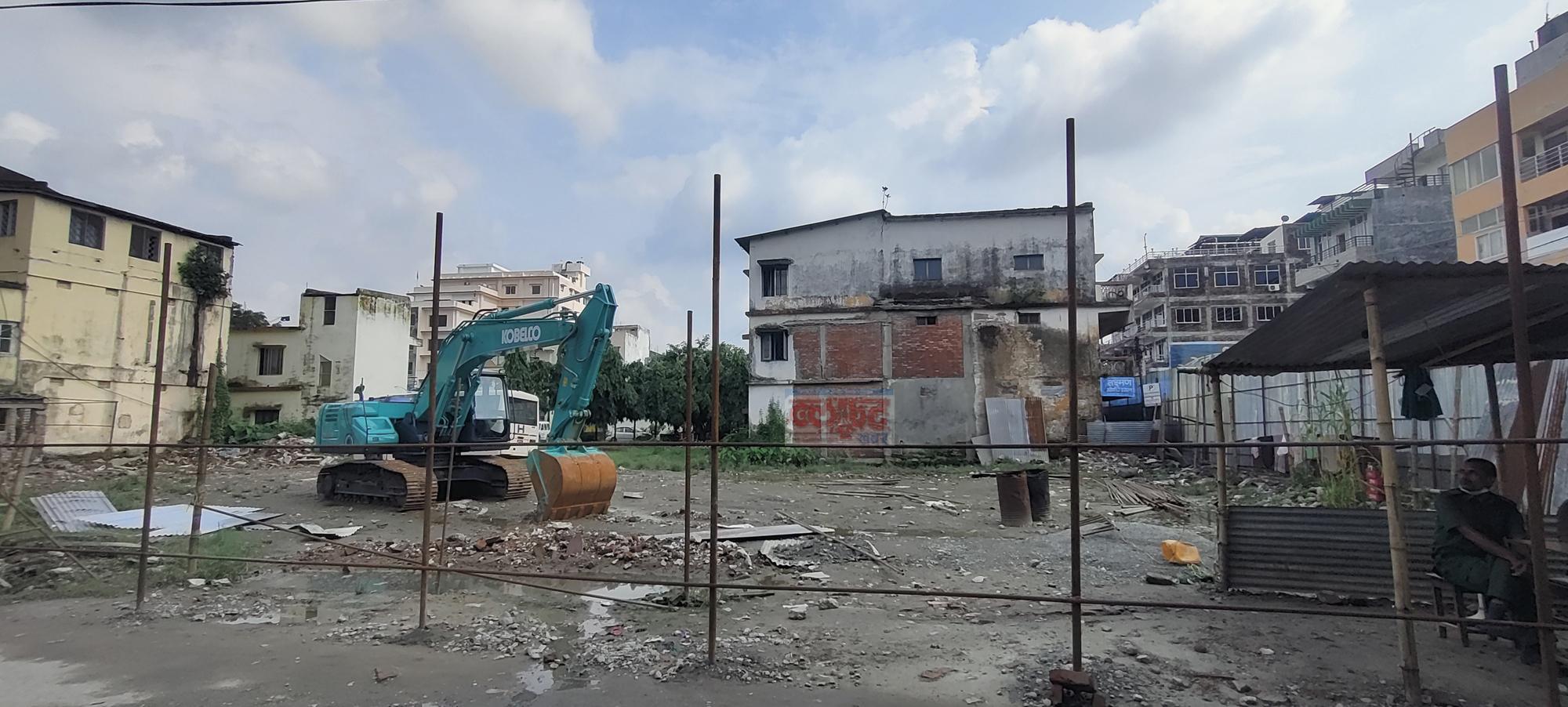 Koshi Hospital Construction Site
